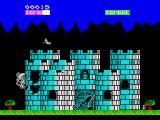 Ramparts ZX Spectrum Digging into the first wall