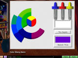 ArtRageous! Windows Color mixing game: build a hue/saturation color wheel.