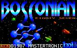 Bosconian '87 Amstrad CPC Loading screen