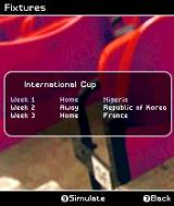 FIFA Soccer 2004 N-Gage Fixtures.