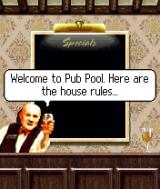 Pub Pool J2ME Terry tells the player how to play