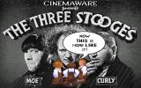 The Three Stooges Amiga Title screen