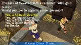 Sid Meier's Pirates! PSP We need to decide who will be the new governor!