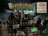 Mystery Case Files: Ravenhearst Windows Main menu