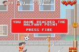 Soccer Kid Game Boy Advance Hitting the info icons gives you some hints and tips