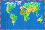 Soccer Kid Game Boy Advance The world map