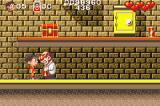 Soccer Kid Game Boy Advance A mad scientist who throws flammable bottles at you
