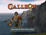 Galleon Xbox Title screen