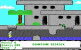 The Flintstones: Dino: Lost in Bedrock DOS Start of level 1