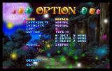 Magical Night Dreams: Cotton 2 SEGA Saturn Option screen.