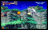 Magical Night Dreams: Cotton 2 SEGA Saturn Fighting the first mid-boss.