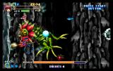 Magical Night Dreams: Cotton 2 SEGA Saturn Level 2 boss is a huge plant-thing.