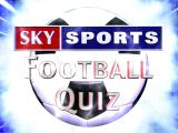 Sky Sports Football Quiz Windows Game Logo at the end of the intro