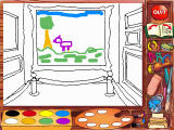 "Madeline's Rainy Day Activities Windows This activity is called ""Finish The Picture"""