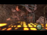 Resident Evil 4 Windows Leon jumping on the giant.