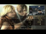 Resident Evil 4 Windows Chapter end screen