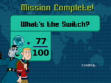Disney's Kim Possible: What's the Switch? PlayStation 2 After the level is complete, your results are displayed