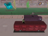 Disney's Kim Possible: What's the Switch? PlayStation 2 Dodging bombs on a double-decker bus