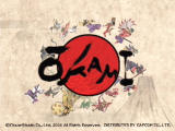 Ōkami PlayStation 2 Title screen