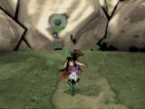 Ōkami PlayStation 2 Bring Susano to the giant boulder to break it open.