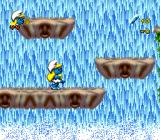 The Smurfs Travel the World Genesis The second stage smurfs almost only vertically.
