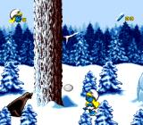 The Smurfs Travel the World Genesis These snowballs are the first smurf where kicking comes really handy.