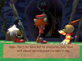 Klonoa 2: Lunatea's Veil PlayStation 2 Ring the bell to finish the vision.