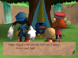 Klonoa 2: Lunatea's Veil PlayStation 2 Visiting the prophet.