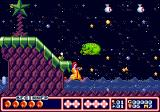 McDonald's Treasure Land Adventure Genesis Beautiful nocturnal landscape, a frog-like enemy in front of you... you have everything you've ever wanted in life