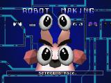 Robo Pit SEGA Saturn Building my first robot - kind of a pissed off-looking bunny.