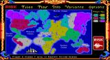 The Computer Edition of Risk: The World Conquest Game DOS Early on