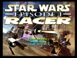 Star Wars: Episode I - Racer Nintendo 64 Main menu