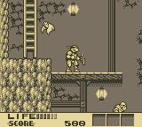 Teenage Mutant Ninja Turtles III: Radical Rescue Game Boy Inside the fortress