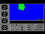 Sub Battle Simulator TRS-80 CoCo One of multiple zooms of your map
