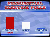 Sam & Max Episode 4: Abe Lincoln Must Die! Windows Max is not doing good in the polls.