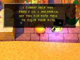 Ms. Pac-Man Maze Madness PlayStation Professor Pac-Man guides you through the level, telling you how to use the gizmos that you will encounter