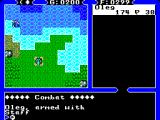 Ultima IV: Quest of the Avatar SEGA Master System The dangerously looking wizard attacks from the seaside