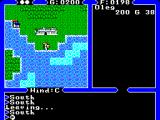 Ultima IV: Quest of the Avatar SEGA Master System Outside of Lord British's castle