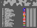 Winter Olympics: Lillehammer '94 SEGA Master System The competitors
