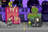 Alien Hominid Game Boy Advance Destroy those tanks!