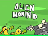 Alien Hominid Xbox Title screen