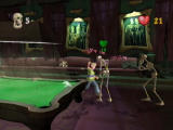 Grabbed by the Ghoulies Xbox You can even grab the pool table and swing that around.