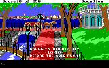 Gold Rush! DOS First screen