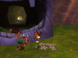 Crash Twinsanity Xbox Slide attack these guys to get them to drop their shields.