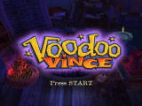 Voodoo Vince Xbox Title screen