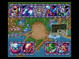 Mega Man X3 Windows The Stage Select screen