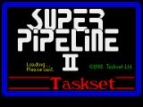 Super Pipeline II ZX Spectrum Loading screen