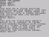 Adventure Quest ZX Spectrum I never knew that mountains have children
