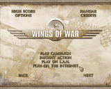 Wings of War Windows Main menu