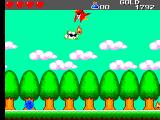 Wonder Boy III: The Dragon's Trap SEGA Master System Now you can fly over that forest...
